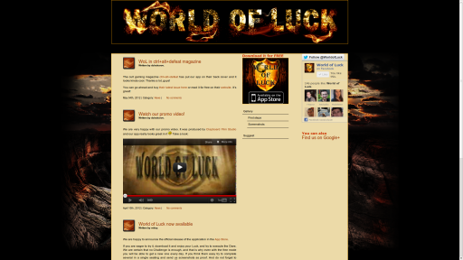 World of Luck - for all the fans of World of Warcraft